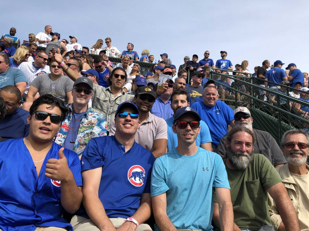 End of Summer Company Trip to Ballpark
